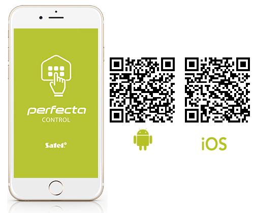 Aplikacja mobilna PERFECTA CONTROL.