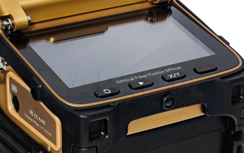 Spawarka światłowodowa AI8C z wymiennym akumulatorem