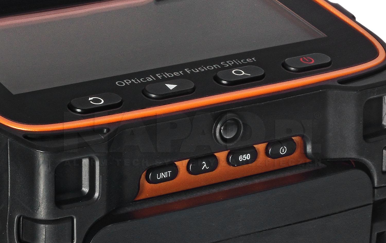 Spawarka światłowodowa AI9 z wymiennym akumulatorem