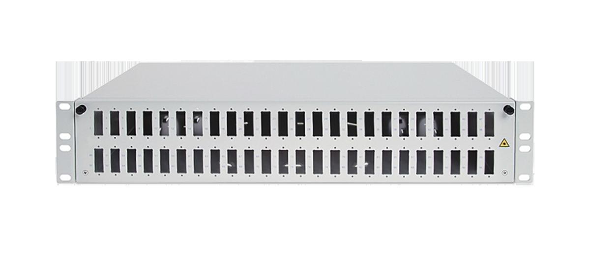 Przełącznica światłowodowa 48x SC duplex.