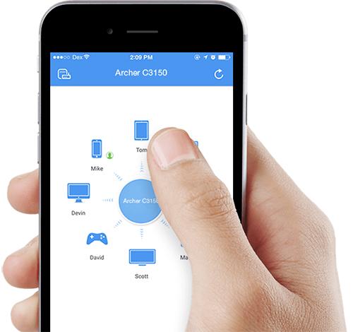 Aplikacja TP-LINK Tether.