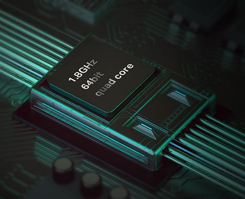Czterordzeniowy procesor gwarancją wydajności.