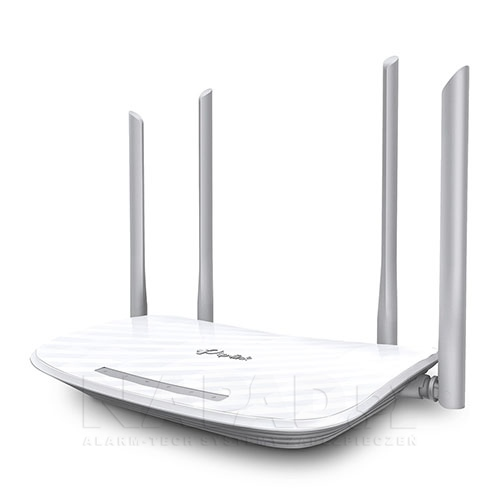 Innowacyjny design anten zapewnia maksymalny zasięg.