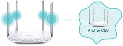 Zewnętrzne anteny - większy zasięg
