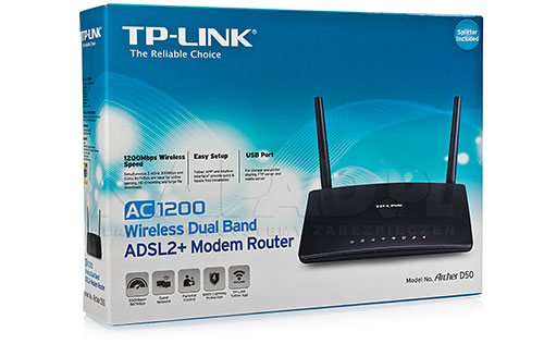 Router xDSL TP-Link Archer D50