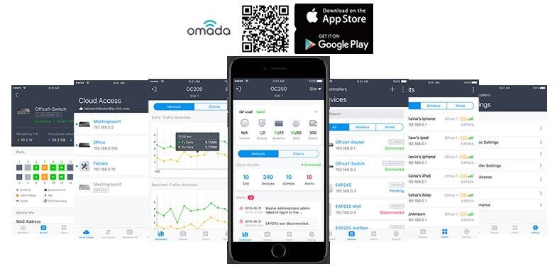 Bezproblemowe zarządzanie poprzez aplikację Omada