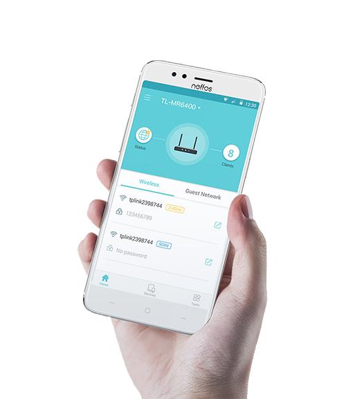 Aplikacja mobilna Tether.