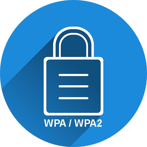Szyfrowanie WPA/WPA2.