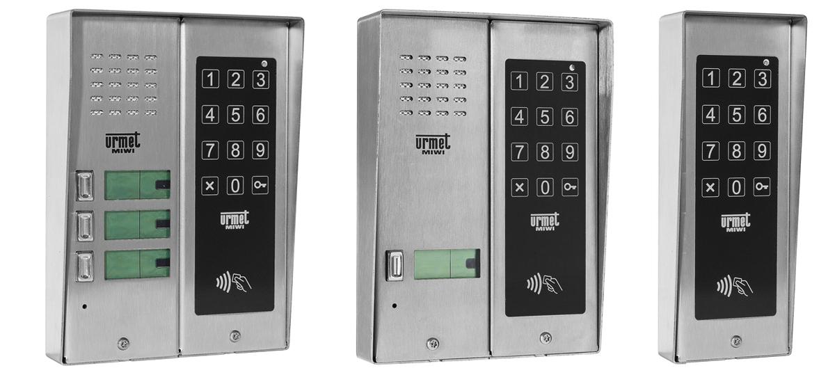 Przykłady instalacji zamka kodowego Urmet.