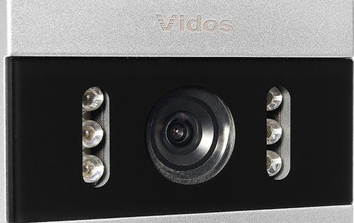 S50A - Wbudowana kamera w stacji bramowej.