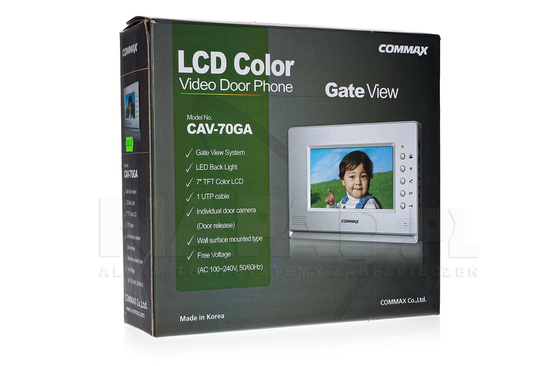 Opakowanie monitora CAV-70GA