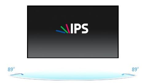 XU2390HS-B1 - Technologia IPS.