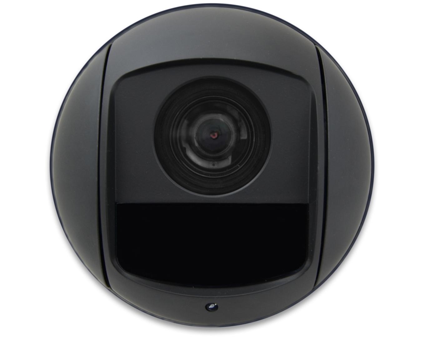 Nowoczesny oświetlacz IR w kamerze IP PTZ.