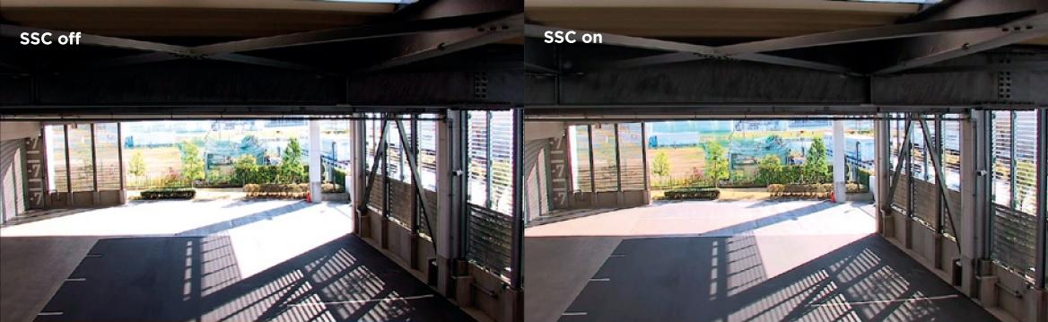 Funkcja SSC (Smart Shade Control) w praktyce.