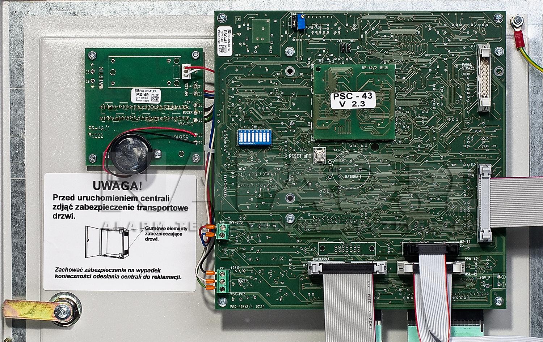 Rozmieszczenie gniazd do montażu dodatkowych elementów wyposażenia