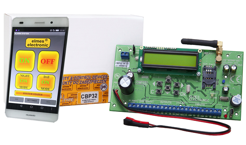 CBP32 - Centrala bezprzewodowa z aplikacją