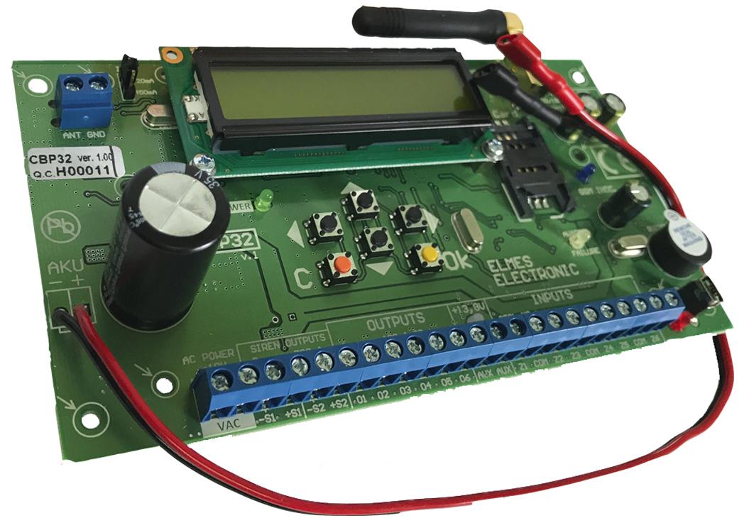 CB32 - Przykładowa instalacja systemu Elmes.