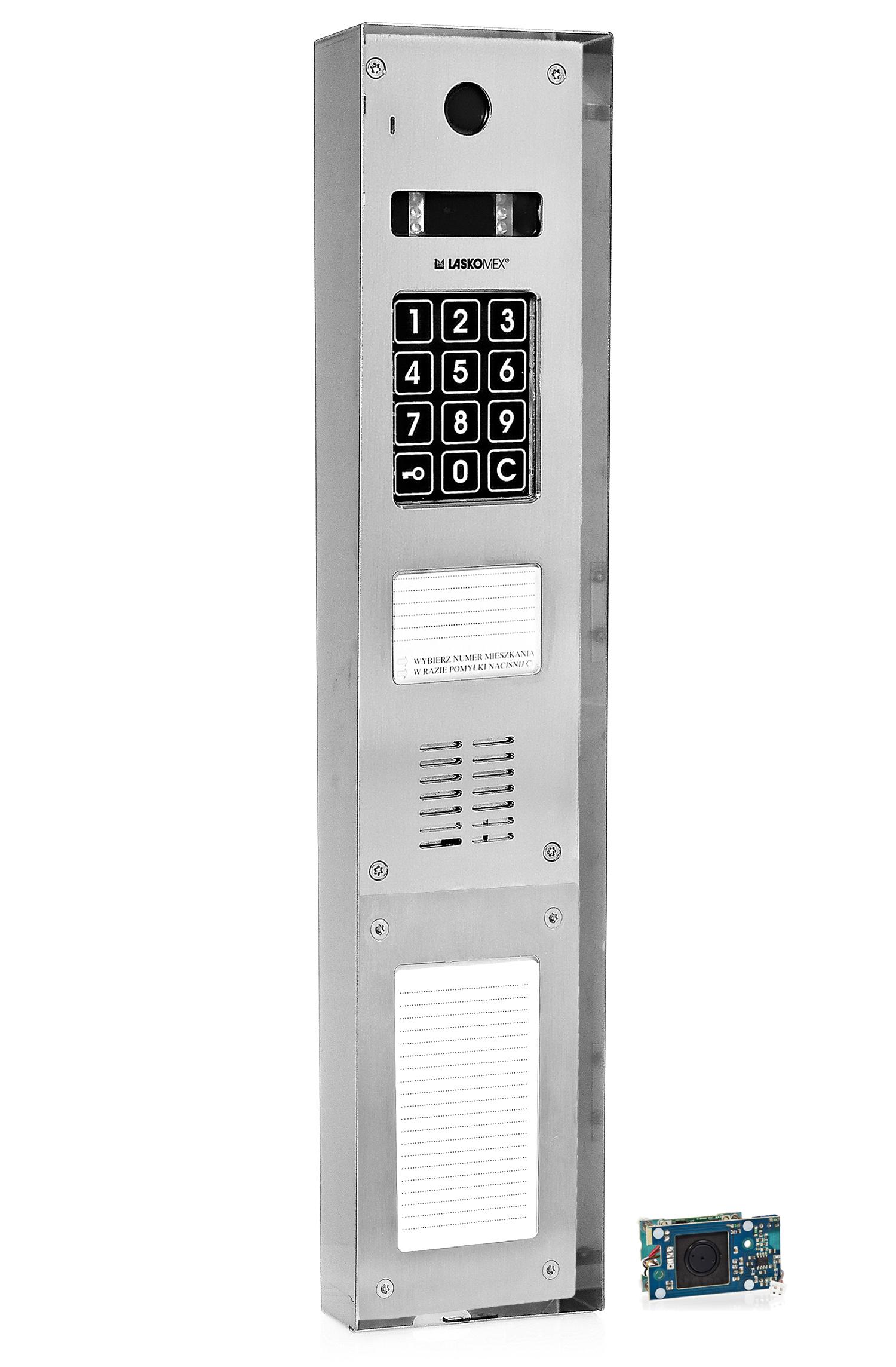 CP2533NR - Dodatkowe akcesoria panela domofonowego.