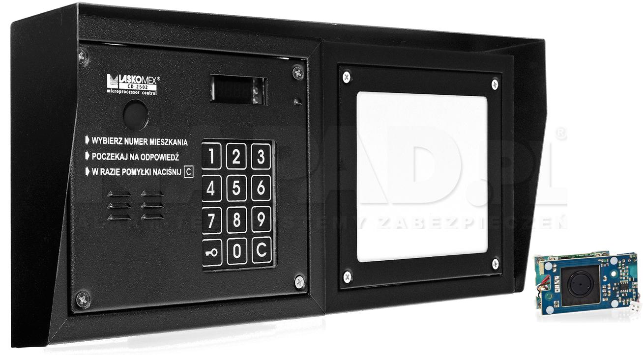 CD2503R - Dodatkowe akcesoria panela domofonowego.