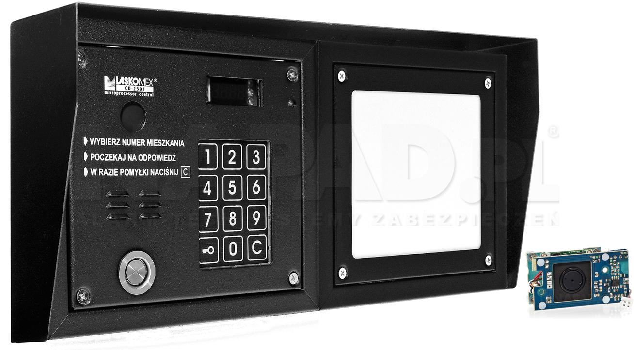 CP2503TP - Dodatkowe akcesoria panela domofonowego.