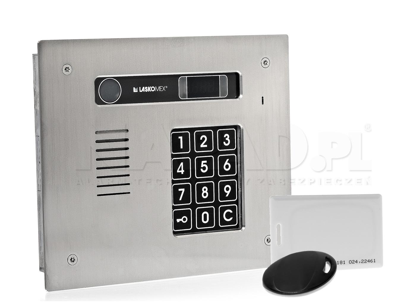 CP2513R - Panel z wbudowanym czytnikiem RFID.