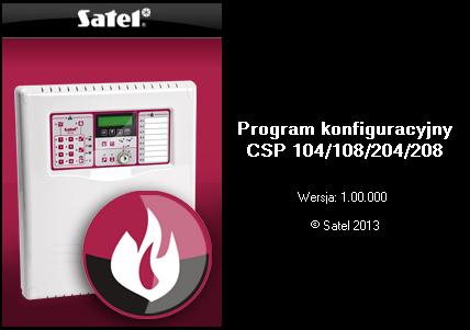 Oprogramowanie DCSP do konfiguracji centrali
