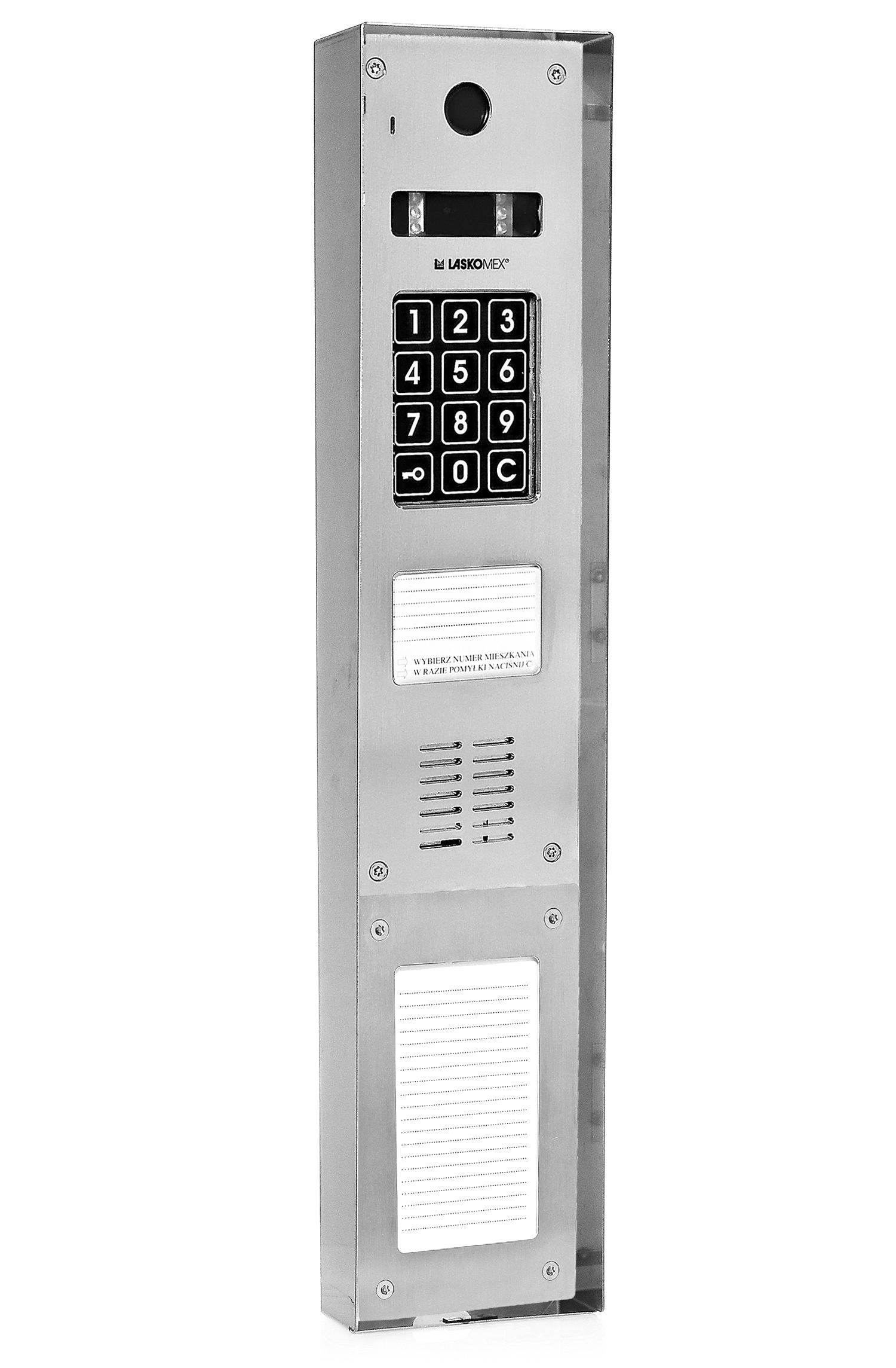 DAX-3-2V - Przykładowe zastosowanie osłony.