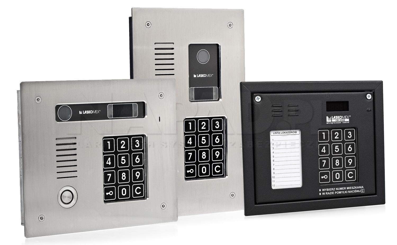 EC2502AR - Współpraca z panelami domofonowymi CP-25xx.