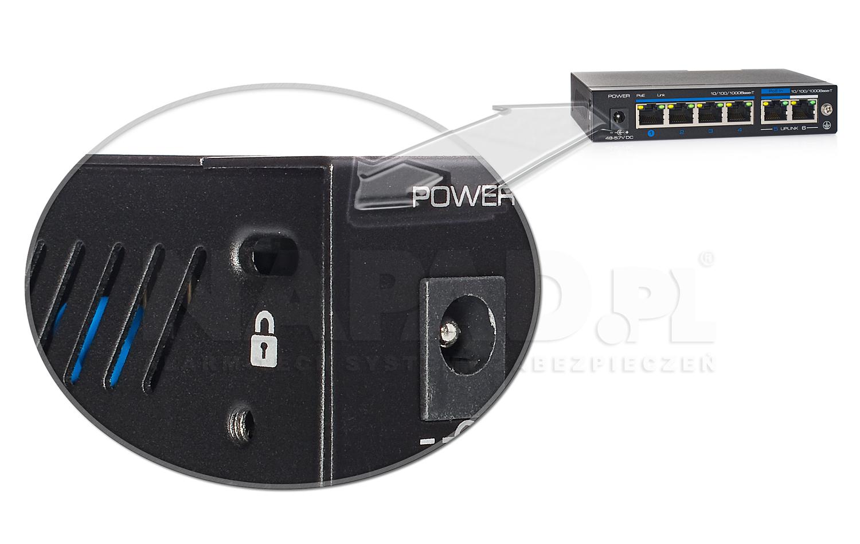 PX-SW4G-TPD60-U1G - Kensington Lock w switchu IPOX.