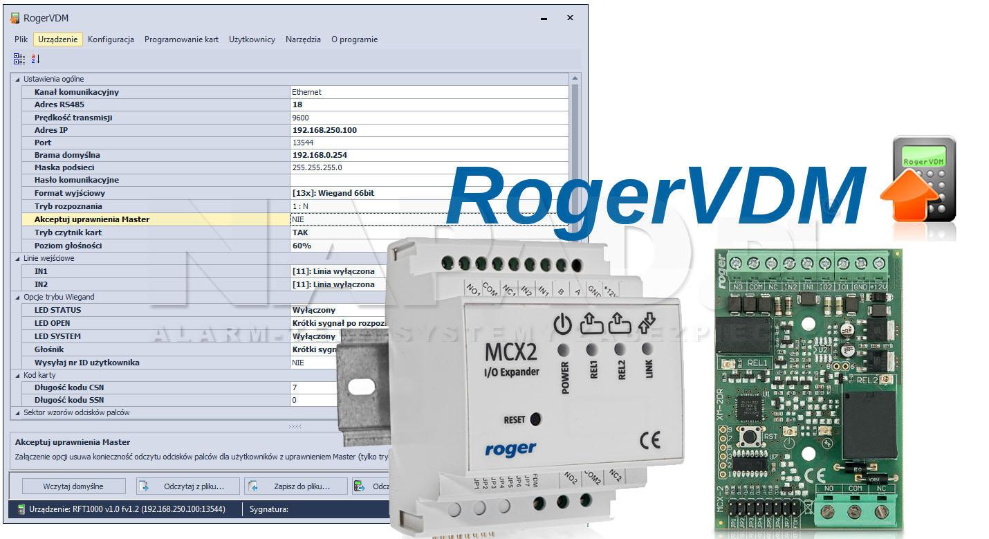 MCX2 / MCX2-BRD - Prosta konfiguracja urządzeń.