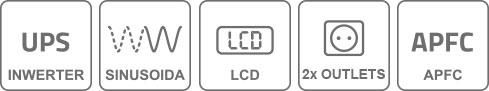 Właściwości invertera UPS INV600