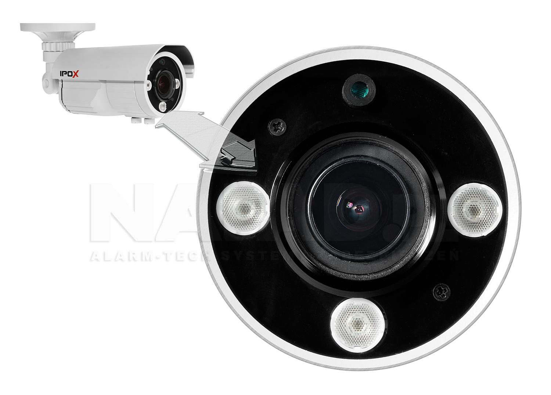 PX-TVH2009 - Oświetlacz podczerwieni w kamerze Analoh HD.