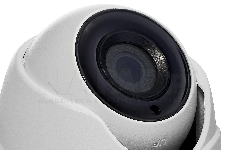 Oświetlacz podczerwieni EXIR w technologii Black Glass.DS 2CE56D8TITM / DS 2CE56D8TITME