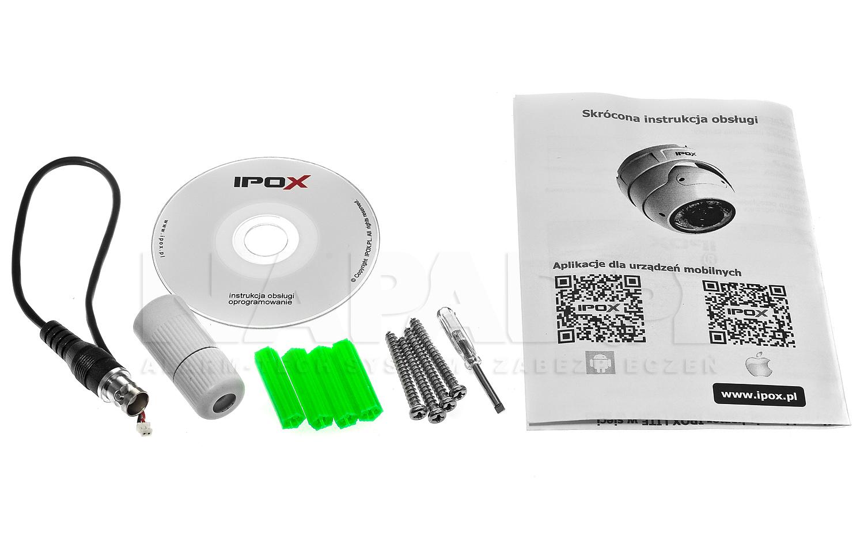 Akcesoria kamery IPOX LITE.