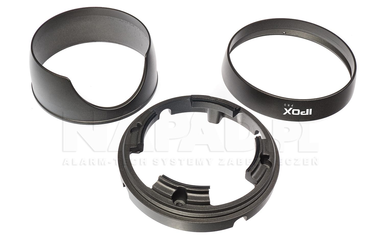 Pierścienie montażowe kamery mpx HD2036DV.