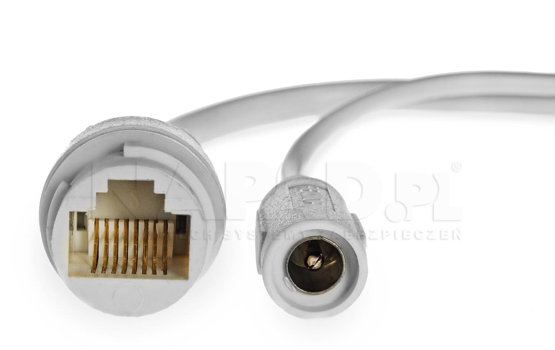 Kamera IP PX-TVIP2024-E - Przewody wychodzące