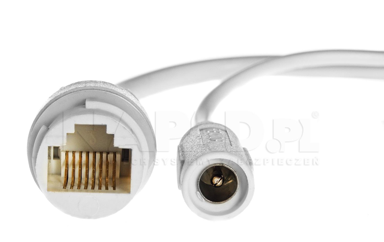 PX-TZIP403BG-E - Przewody podłączeniowe kamery IPOX.