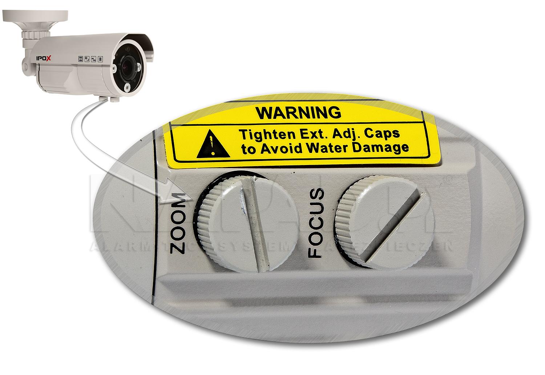 Regulacja ustawień obiektywu w kamerze AHD 1203TV