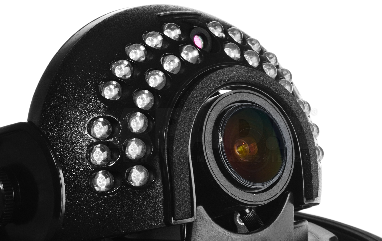 Sieciowa kamera HD2030 DV z oświetlaczem podczerwieni IR.