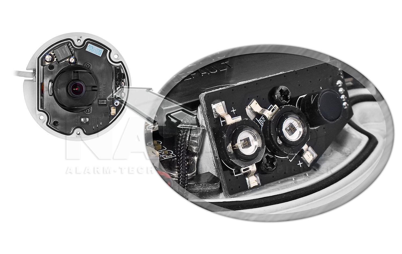PX-DMI2028AMS-E - Kamera z oświetlaczem podczerwieni.