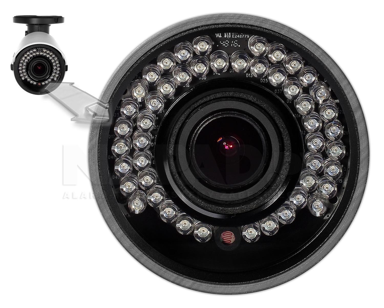 PX-TZIP4048AS-P - Oświetlacz podczerwieni w kamerze megapikselowej.