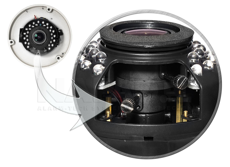 PX-DWVH2030 - Regulowany obiektyw 2.8-12 mm.