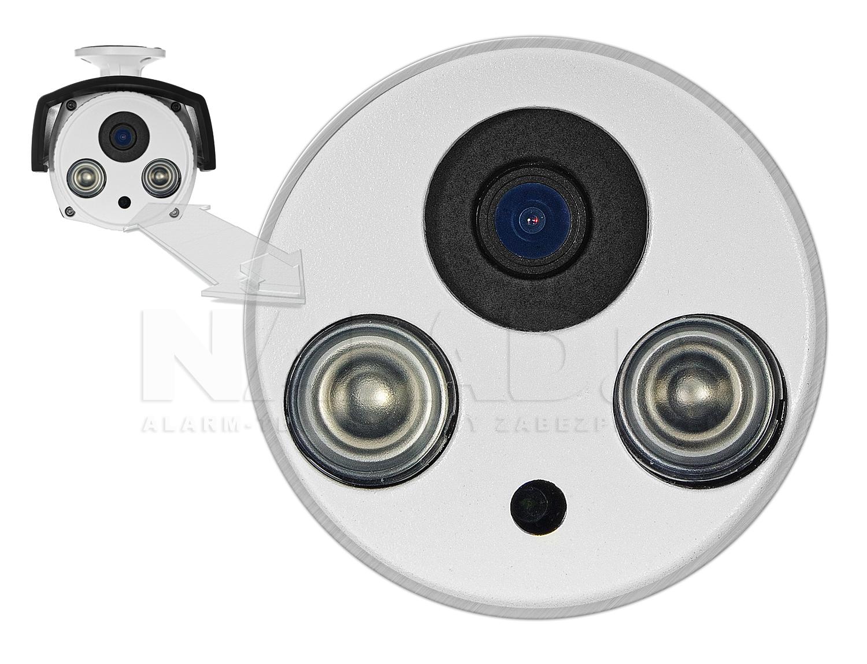 Wbudowany wydajny oświetlacz podczerwieni w kamerze PX-TI2028-E.