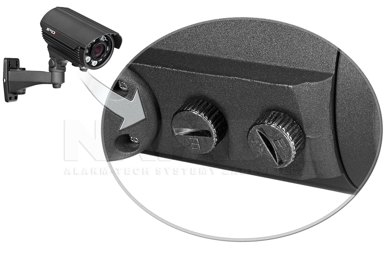 Mechanizm regulacji obiektywu w kamerze megapixelowej PX-TVIP2009-E .
