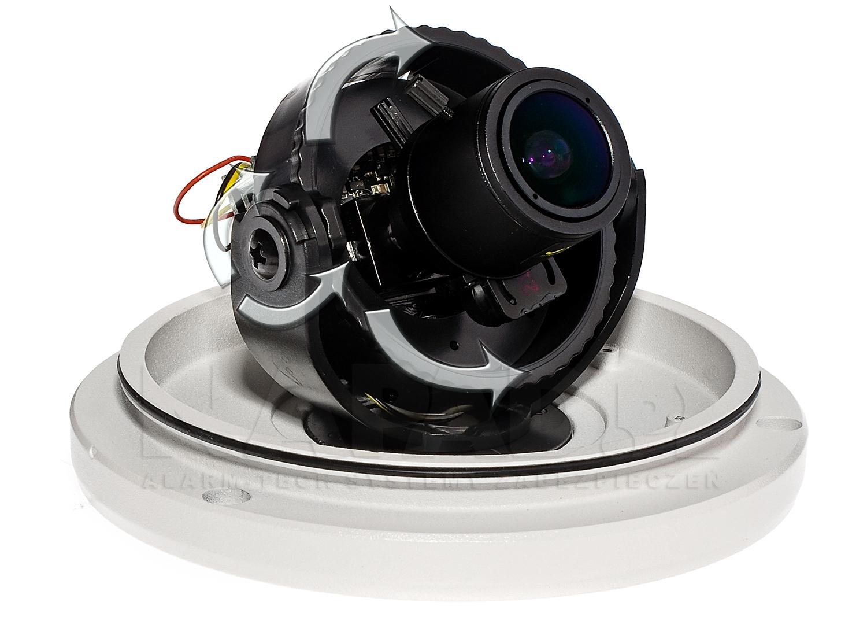 Regulacja kąta obserwacji kamery kopułkowej VP330E