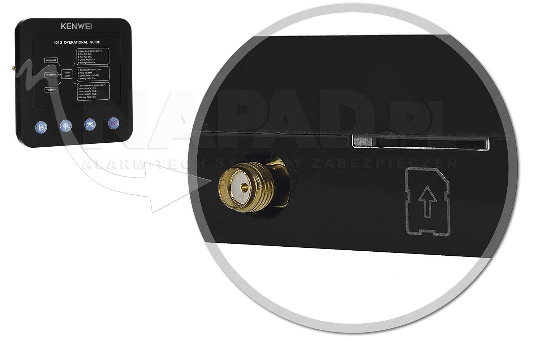 Gniazdo SIM do modułu GSM KW-401G