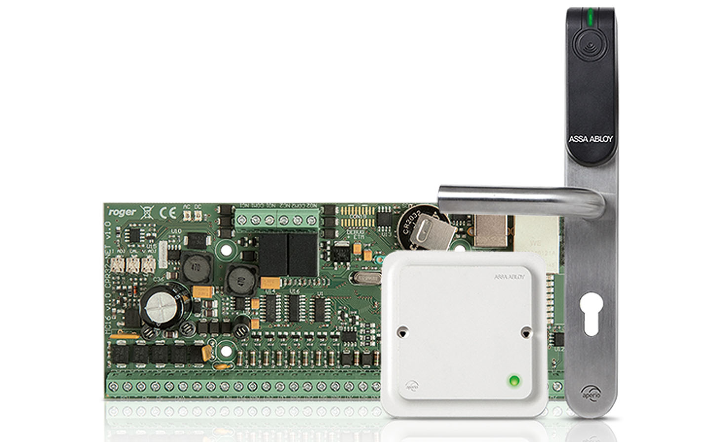 MC16-PAC - Integracja zamków APERIO z kontrolerem.