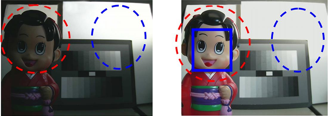 Funkcja WDR w kamerze HD IP.
