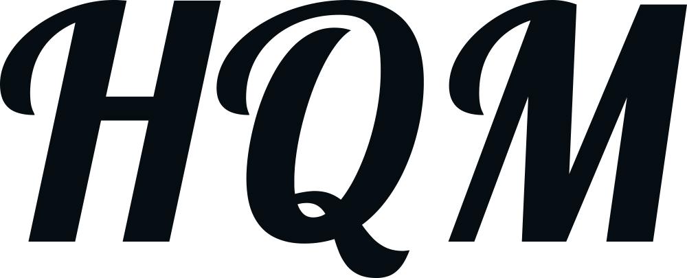 Logo nagłośnienia marki High Quality Music.