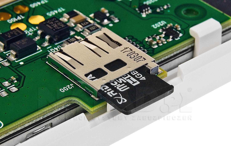 Klawiatura dotykowa TM-70 gniazdo karty SD